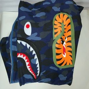 Blu Bape WGM *IN STOCK Comes with bag and reciept